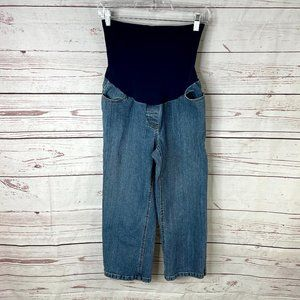 Motherhood Maternity Denim Capri Pants Size Medium